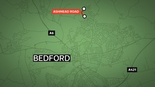 Police in Bedford have launched a murder investigation after a 16-year-old boy suffered stab wounds.