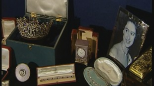 Princess Margaret's jewellery up for auction in Sussex