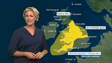 Wet and windy weather is forecast for the week ahead.