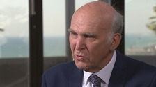 Sir Vince Cable is set to address the party conference on Tuesday.