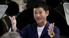 Japanese billionaire to be first private moon tourist