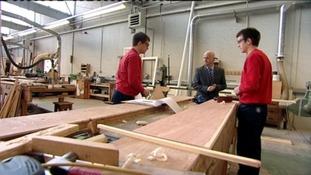 Apprentice carpenters