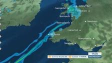 Wales weather: Windy start