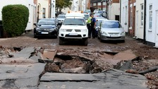 Burst water pipe leaves thousands without water