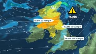 Met Office names first UK Storm of the season