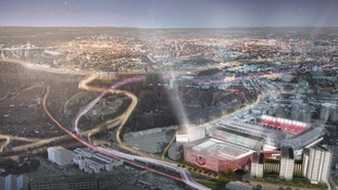 Ashton Gate Stadium reveals plans to build new £100m sporting venue