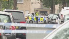 Three men arrested over Huddersfield drive-by shooting