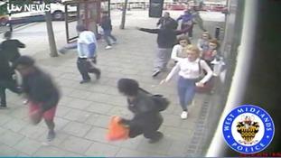 Fatal bus crash caught on CCTV