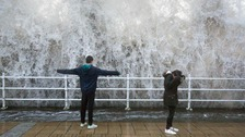 Storm Ali poses 'danger to life' as high winds hit UK