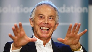 Rumours: Former Prime Minister Tony Blair has been touted as potentially the next chairman of the Premier League