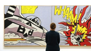 Roy Lichtenstein works to be exhibited at Tate Modern