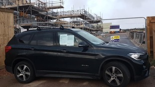 Mum of blind girl blocks Cornwall housing development in road protest