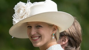 Lady Gabriella Windsor at Pippa Middleton's wedding.