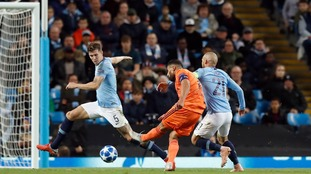 A lacklustre Man City suffered a shock home defeat to Lyon in their Champions League opening tie