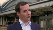 George Osborne tells Transport Secretary to get on with fixing the railways