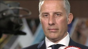 Ian Paisley holds seat after surviving recall petition