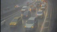 M4 accidents mean delays around Newport