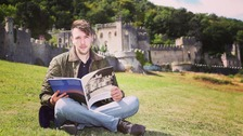 Gwrych Castle volunteer receives award from Prime Minister