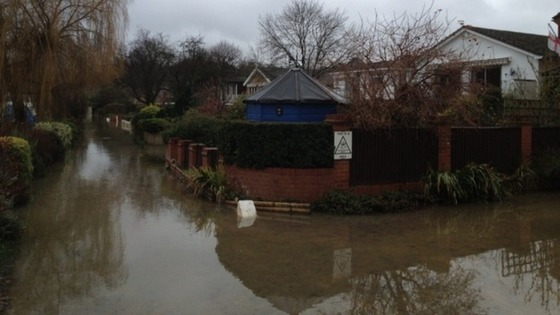 Flooding In Purley