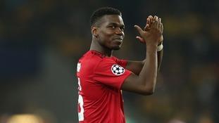 Paul Pogba thanks Jose Mourinho for keeping faith with his spot-kick skills