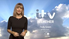 Sunny periods. Cloud thickening this evening with outbreaks of rain