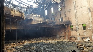 Devastating fire at historic cinema being treated as suspicious