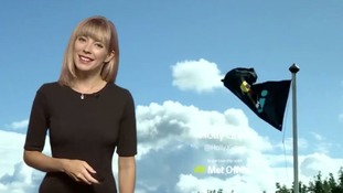 Weather forecast: Storm Bronagh brings very strong, squally winds and heavy rain to southern England