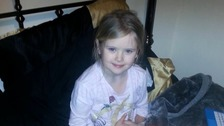 Mylee Billingham died in January after she was stabbed. Her father denies murder.