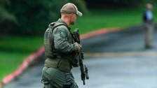 Four dead, including suspect, after Maryland shooting