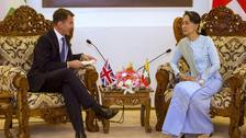 Hunt appeals to Suu Kyi for justice for Rohingya genocide victims