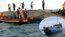 At least 44 killed after passenger ferry capsizes on Lake Victoria