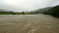 River Dyfi at Machynlleth