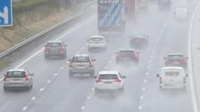 Storm Bronagh: Road closures and live updates
