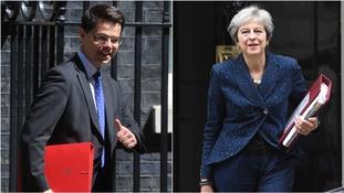 James Brokenshire and Theresa May