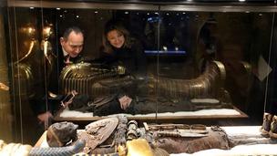 Highclere Castle Egyptian Exhibition