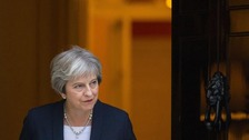 May responds after EU rejects Chequers Brexit plan