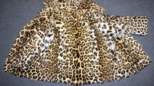 Trader sentenced after leopard and wolf fur coats seized