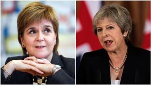 Nicola Sturgeon described the Prime Minister's statement on EU talks as 'dreadful'.