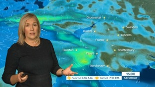 Weather: wet and windy weekend ahead