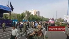 Several members of Iran's military guard killed in parade attack