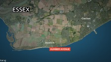A 15-year-old boy has been arrested on suspicion of arson after a fire in Jaywick