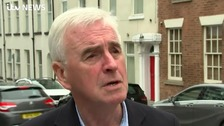 McDonnell tells ITV News it's time for election not people's vote