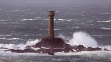 Rower travelling from USA rescued off Lands End