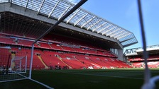 Anfield Stadium in Liverpool