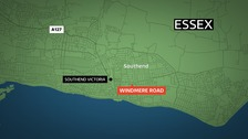 A 17-year-old boy was stabbed at Windmere Road in Southend