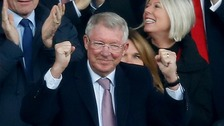 'Nervous' Sir Alex Ferguson enjoys hero's return after surgery