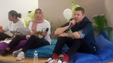 Professor Green delivers message after special Grenfell invite