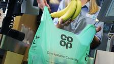 Compostable bags at Co-op in move to end single-use plastic