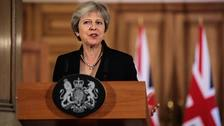 Time to hold our nerve over Brexit, Theresa May tells Tories