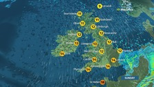 Wet for rest of the weekend for most but sunny spells for some